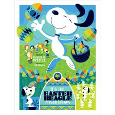 """the Easter Beagle, Charlie Brown!"""" by Tom Whalen ..."""