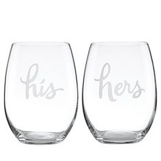 A Gift for the Seasonal Sipper... This elegant set of glasses kate spade new york makes a perfectly appointed gift for a special pair. Go for It! Free shipping through 12/22/15.