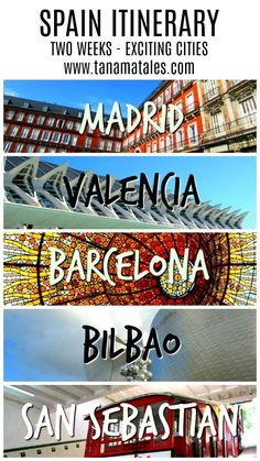Do you ike the good things in life? If so (and who doen't), you have to visit Spain. My Spain itinerary will take you two weeks through a country full of history, exciting cities and finger licking good food. No excuses! Get prepared for Spain.