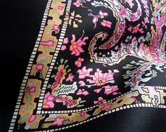Liberty of London vintage silk scarf, in great condition!