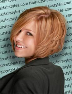 After I attend all of the Military Balls this summer I think I am going to go back to short hair.  I love this style!