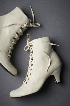 I had a pair of boots like these when I was younger- about 7-10, and I loved them. They didn't have the heels, of course, but these would be a nice grown-up revival of them.
