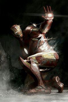 Iron Man. This art is fantastic