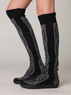 b86a939e2 gretta over the knee slipper sock from free people   love Slipper Socks
