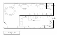 bar and grill floor plans - Google Search