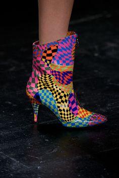 #JeremyScott #CollezioniAccessorin82 #SS16 #FocusOn #1980s #boots #shoes #disco #style #colors