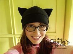 #Tutorial per realizzare un #cappello con le orecchie da #gatto #faidate con #cartamodello gratuito #neko #diy #hat #cat