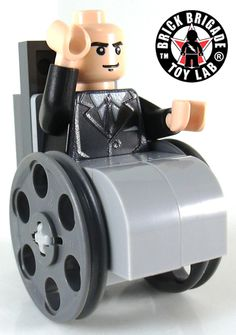Custom LEGO Fantasy Minifigure Model Professor - Inspired by the Xmen Movies