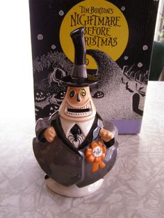 Nightmare Before Christmas Mayor Bank Schmid 1993 #nightmarebeforechristmas #banks #toys #collectibles #collectables