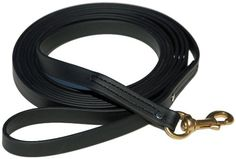 Signature K9 Biothane Long Line, Black *** Awesome dog product. Click the image : All pet supplies