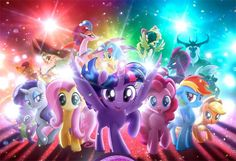 Discover a Different Breed of Hero in the Exclusive My Little Pony Poster!