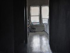Kitchen light by Matthew Hickey in Current Work, Painting using Oil on canvas. Selling Art Online, Kitchen Lighting, Original Artwork, Prints, Art Interiors, Home Decor, Windows, Colors, Window