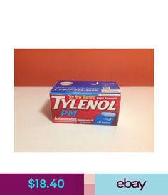Sleeping Aids Extra Strength Tylenol Pm - Pain Reliever - Nighttime Sleep Aid 225 Caplets #ebay #Fashion