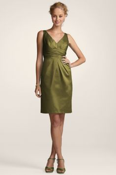 Bridesmaid Dress-Olive$59.99