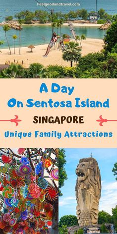 When visiting Singapore as a family, be sure to plan a day on Sentosa Island. Packed with endless attractions, it's no wonder they call it The State of Fun! Singapore Guide, Visit Singapore, Singapore Travel, Croatia Travel, Thailand Travel, Bangkok Thailand, Hawaii Travel, Asia Travel, Italy Travel