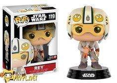 Star was funko - Rey with rebel helmet pop - got it