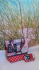 Taška plážová na zips / VIEtoRA - SAShE.sk - Handmade Veľké tašky