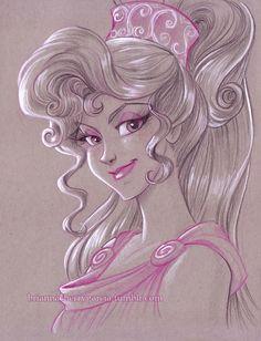 Megara by Brianna Cherry Garcia