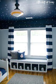 Charming Star Wars Kids Bedroom Window Seat 2