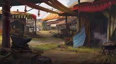 ArtStation - sorcerer king concepts, Tyler edlin Fantasy Art Landscapes, Fantasy Landscape, New Fantasy, Game Background, Fantasy Illustration, Environment, Concept, Patio, Outdoor Decor