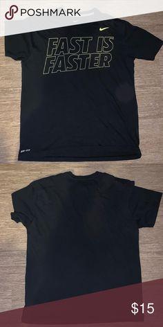 c61b7da32a9b Nike Men s Crew Neck Short Sleeve T-Shirt Nike Men s Crew Neck Short Sleeve  T-Shirt 100% Cotton Black Short Sleeve Size L Dri-Fit Nike Shirts Tees -  Short ...