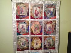 Asian Riches....Design by Gloria McKinnon...stitched by Avis Withers
