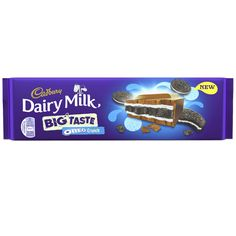 Chocolate gifts direct from Cadbury including the NEW Dairy Milk Oreo Crunch Bar. Create your own bespoke chocolate hamper online. Dairy Milk Chocolate, Cadbury Dairy Milk, Cadbury Chocolate, Chocolate Lovers, Dairy Free Biscuits, Dairy Free Pancakes, Silk Oreo, Dairy Free Overnight Oats, Dairy Milk Silk