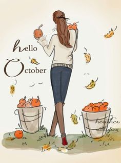Autumn. Hello October.