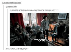 SURE LOOKS LIKE IT. THAT ONE GIRL IS DRESSED LIKE SHERLOCK. AND WHAT ARE THEY LOOKING AT?? <-- I KNOW THEYRE ALL LOOKING AT SOMETHING BEFKRE THEY GET THE TEXTS WHAT IS IT???