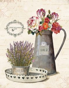 Obraz na plátně-květiny - zvětšit obrázek