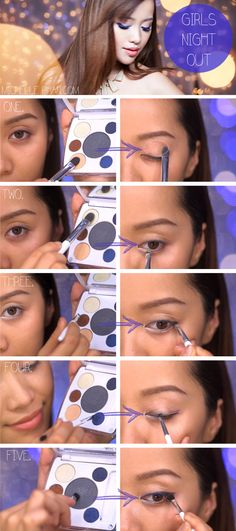 new tutorial for a girls' night out look # by Michelle Phan My Beauty, Beauty Secrets, Beauty Makeup, Eye Makeup, Beauty Hacks, Beauty Tips, Beauty Products, Michelle Phan, Makeup Trends