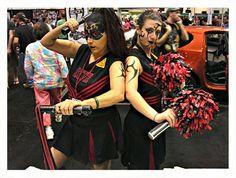 Sith cheerleaders.