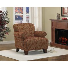 Sausalito Nutty Cranberry Chair - Overstock™ Shopping - Great Deals on Living Room Chairs