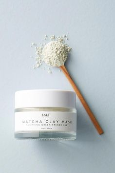 Salt by Hendrix Matcha Clay Mask | Anthropologie#beauty #beautytips  #beautyproducts orwomen#beautyp #FaceMaskForSpots Best Beauty Tips, Natural Beauty Tips, Diy Beauty, Beauty Tricks, Beauty Ideas, Face Mask For Spots, Chocolate Face Mask, Beauty Hacks Skincare, Health