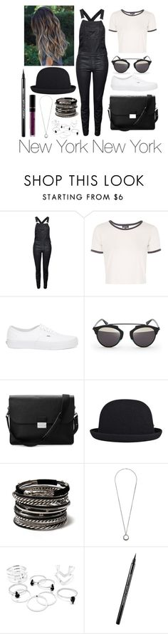 """""""New York New York"""" by leonorgomes on Polyvore featuring Diesel, Topshop, Vans, Christian Dior, Aspinal of London, kangol, Amrita Singh, Dorothy Perkins, Maybelline and women's clothing"""
