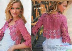 Χειροτεχνήματα: Πλεκτά μπολερό / Crochet boleros/shrugs