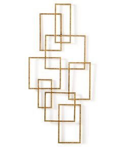 CLOSEOUT! Home Design Studio Chainlink Wall Décor - Home Decor - For The Home - Macy's
