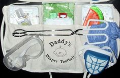 OH BABY!! New Daddy Tool belt Gift  #PampersPinParty. Every Dad should get a gift or 2.