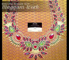 latest maggam work blouses