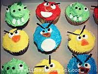 angry bird cupcake - Bing Images