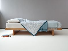 Natural Bed Company – Kyoto contemporary low loft bed.
