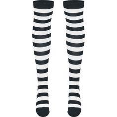 """Chaussettes montantes à hauteur des genoux """"Ladies Striped Socks"""" signées Urban…"""