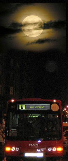 Cidadáns en Acción: Bus nocturno por Sara Rivera, A Coruña