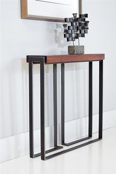 Console Tables by Charleston Forge. Console Tables by Charleston Forge. Interior, Loft Furniture, Steel Furniture, Iron Furniture, Wood Table Diy, Hall Furniture, Cool Furniture, Furniture Design, Metal Furniture