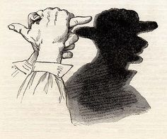 The Coachman Hand-Shadow (Frank Leslie's Popular Monthly, February 1881)