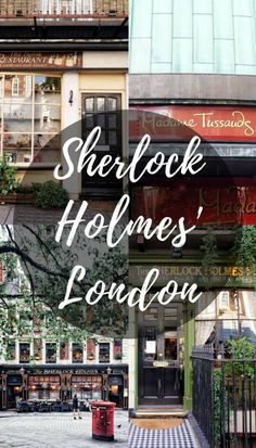 Ever wondered where you can find Sherlock Holmes in London? I've rounded up a list of the best places to spot inspiration from Conan Doyle's Masterpiece! Go on the trail of Dr Watson and Holmes at Baker Street, Madame Tussauds and more! London Eye, Sherlock Holmes, Sightseeing London, London Travel, Travel Europe, Europe Train, Baker Street, Week End En Europe, Travel Guides