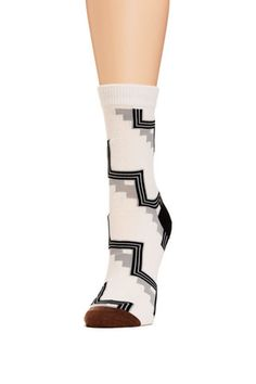 Ivory Hansel From Basel Step Crew Socks – Lowie