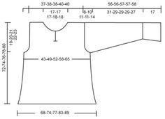 DROPS 87-2 - Holgada y cómoda túnica con puños en fino mohair... - Patrón gratuito de DROPS Design