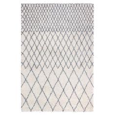 Tapis Agadir Ivoire avec losanges gris, tapis style berbère de Winkler chez Itao Tapis Design, Agadir, Ivoire, Home Decor, Grey, Diamond Shapes, Interior Design, Home Interior Design, Home Decoration