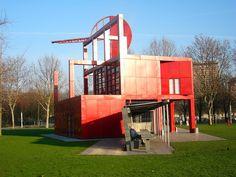 Retrospectiva da obra de Bernard Tschumi no Pompidou |
